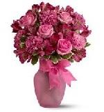Pink garden in Vase