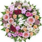 AU Funeral wreath
